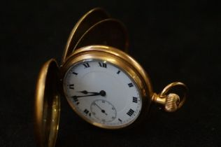 Gold plated pocket watch, inscription to inner case (To my friend Robert Stewart on the occasion of