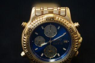 Seiko chronograph sorts 150 gents wristwatch, quar
