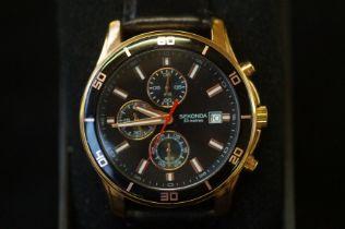 Sekonda 50 meter gents wristwatch with box