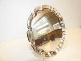 Silver Salver full Birmingham hallmarks, presentat