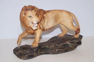 Beswick Lion on rock (Seconds)
