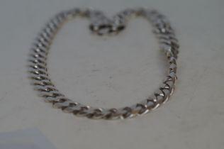 Heavy silver neck chain Weight 170g