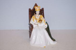 Royal Doulton prototype figure queens Elizabeth II