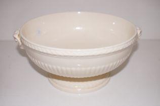 Wedgwood ram handle queens ware bowl
