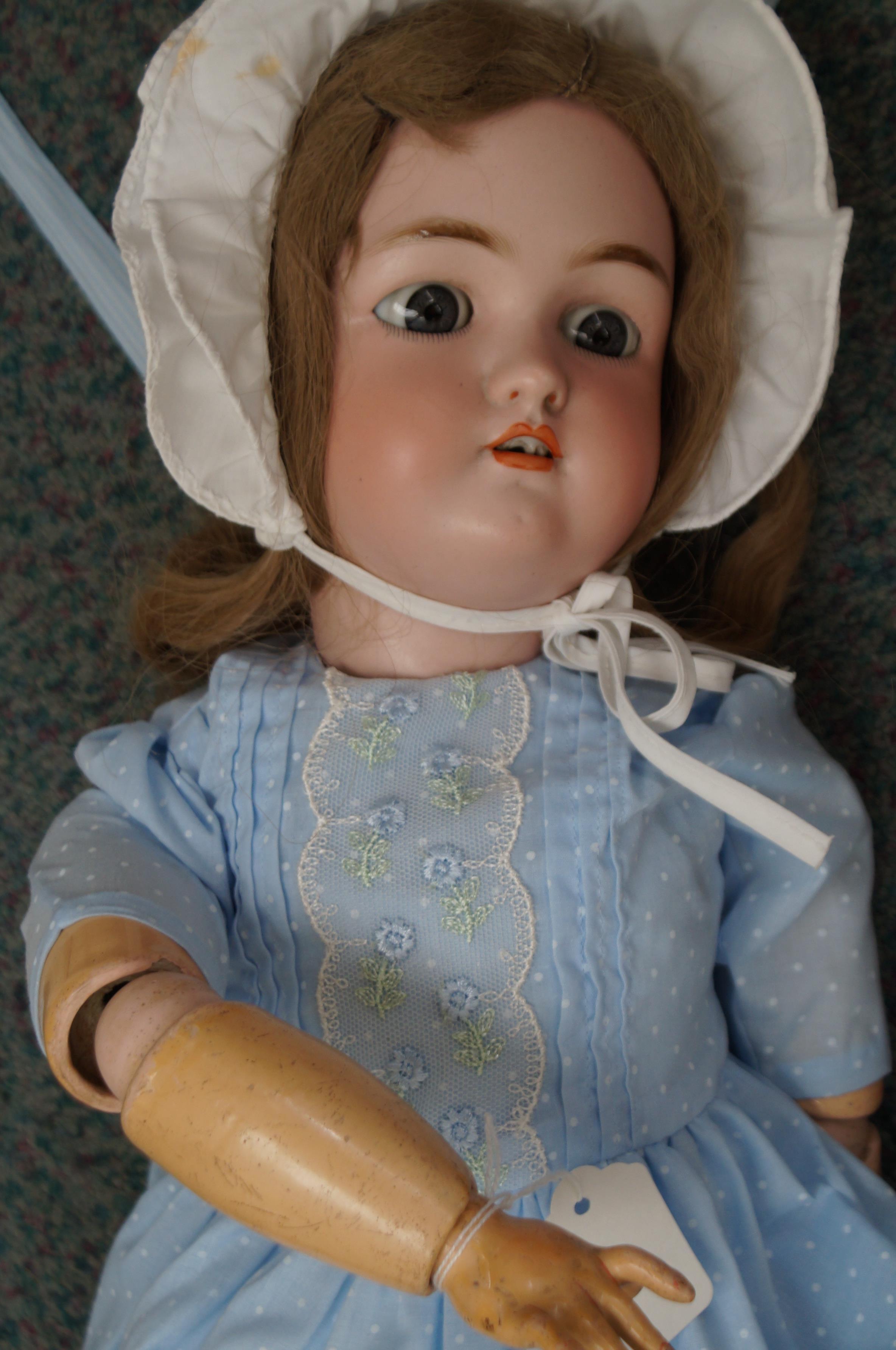 """Jutta bisque headed doll 24"""""""