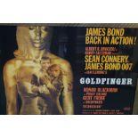 Movie Poster Goldfinger - 75cm x 98cm (Including F