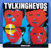 Talking Heads - a copy of Remain in the Light, Sire Records Germany SRK 6095, with printed lyrics