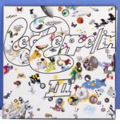Led Zeppelin III Atlantic Records K 50002 VG+ to near mint