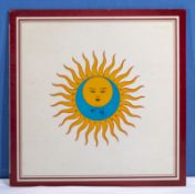 King Crimson - a copy of Larks' Tongues in Aspic ILPS9230, VG+ to near mint