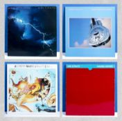 Four Dire Straits albums, Love Over Gold, Brothers in Arms, Alchemy Live double album and Making