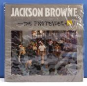 Jackson Browne - a copy of The Pretender, Asylum Records, K53048, VG+ to near mint