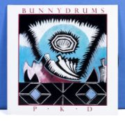 Bunnydrums - a copy of P K D. Red Records RM005, VG+ to near mint