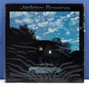 Jackson Browne - a copy of Late for the Sky, Asylum Records, K 43007, VG+ to near mint