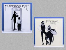 Fleetwood Mac Reprise Records K 54043 together with Rumours complete with lyrics sheet/poster K