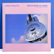 "Dire Straits a copy of Brothers in Arms (Full length version) 12"" single DSTR 1112, VG+ to near"