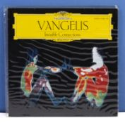 Vangelis - a copy of Invisible Connections, Deutsche Grammophon, Polydor Records Hamburg, 415 196-