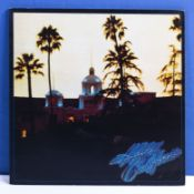 The Eagles - a copy of Hotel California complete with unused poster, Asylum records K 53051, VG