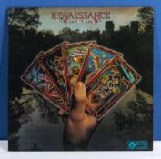Renaissance - Turn of the Cards VG+ to near mint the sleeve is signed by all five band members