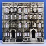 Led Zeppelin a copy of Physical Graffiti double album SSK 89400, VG+ to near mint