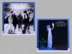 Fleetwood Mac Live double album, K 66097 together with Stevie Nicks 'Bella Donna' Mulitcoloured