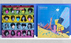 Two Rolling Stones albums - Some Girls CUN 39108 and Still Life (American Concert 1981) CN 39115.