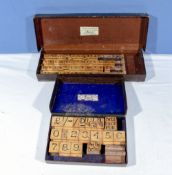 Two sets of Price Leslie rubber stamps, prices and letters
