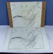Two old maps of Hawick