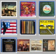 Seven albums including Pink Floyd Animals (small scratch across track one, side one. Men at Work,
