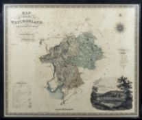 Map of the County of Westmorland made in the years 1822 and 1823 published by the proprietors
