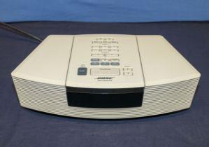 A BOSE Wave radio/CD, 120V AC