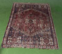 A Persian style rug 185cm x 132cm