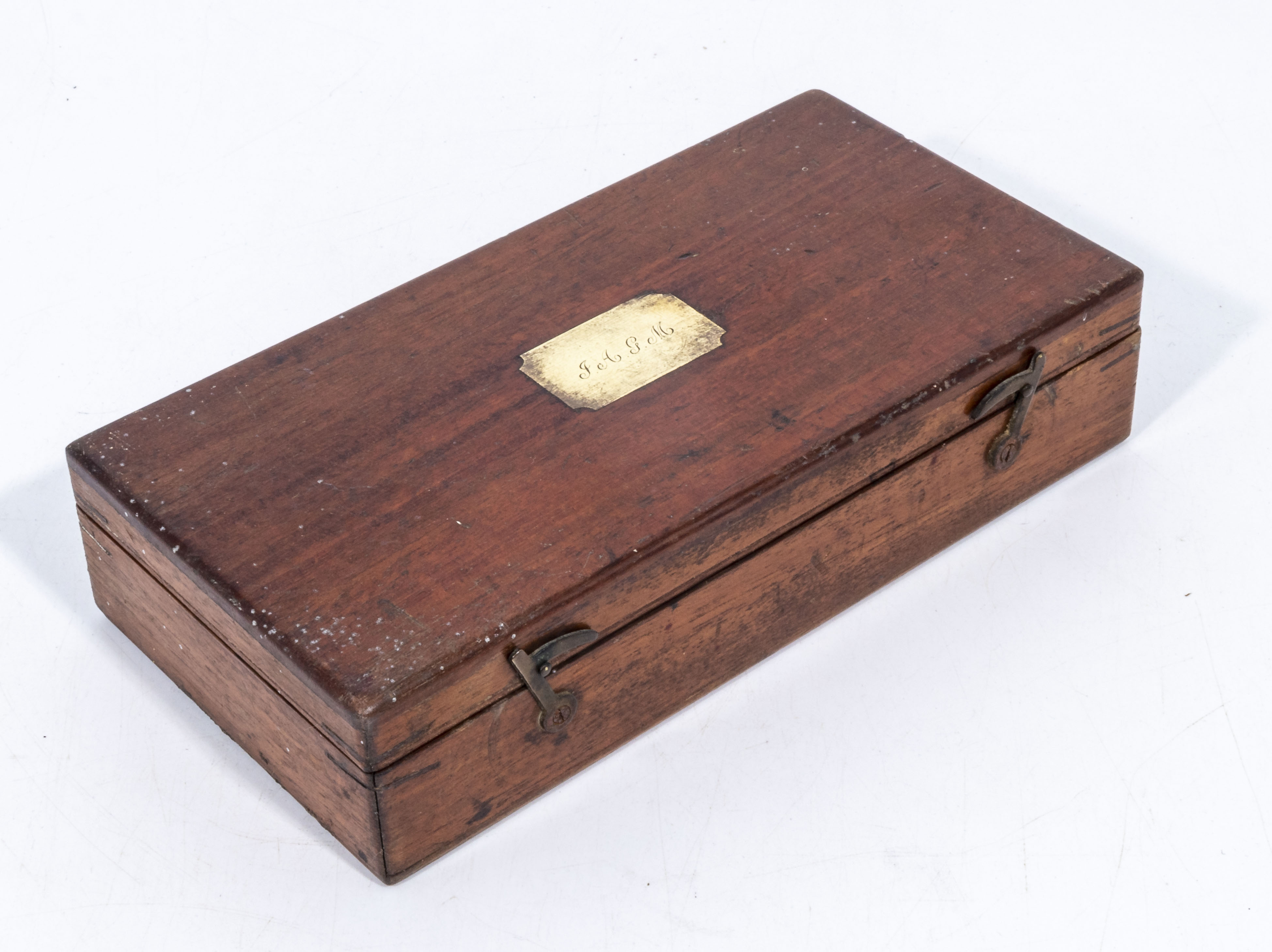 High quality Victorian draughtman's set of instruments in double layer fitted box - Image 3 of 3