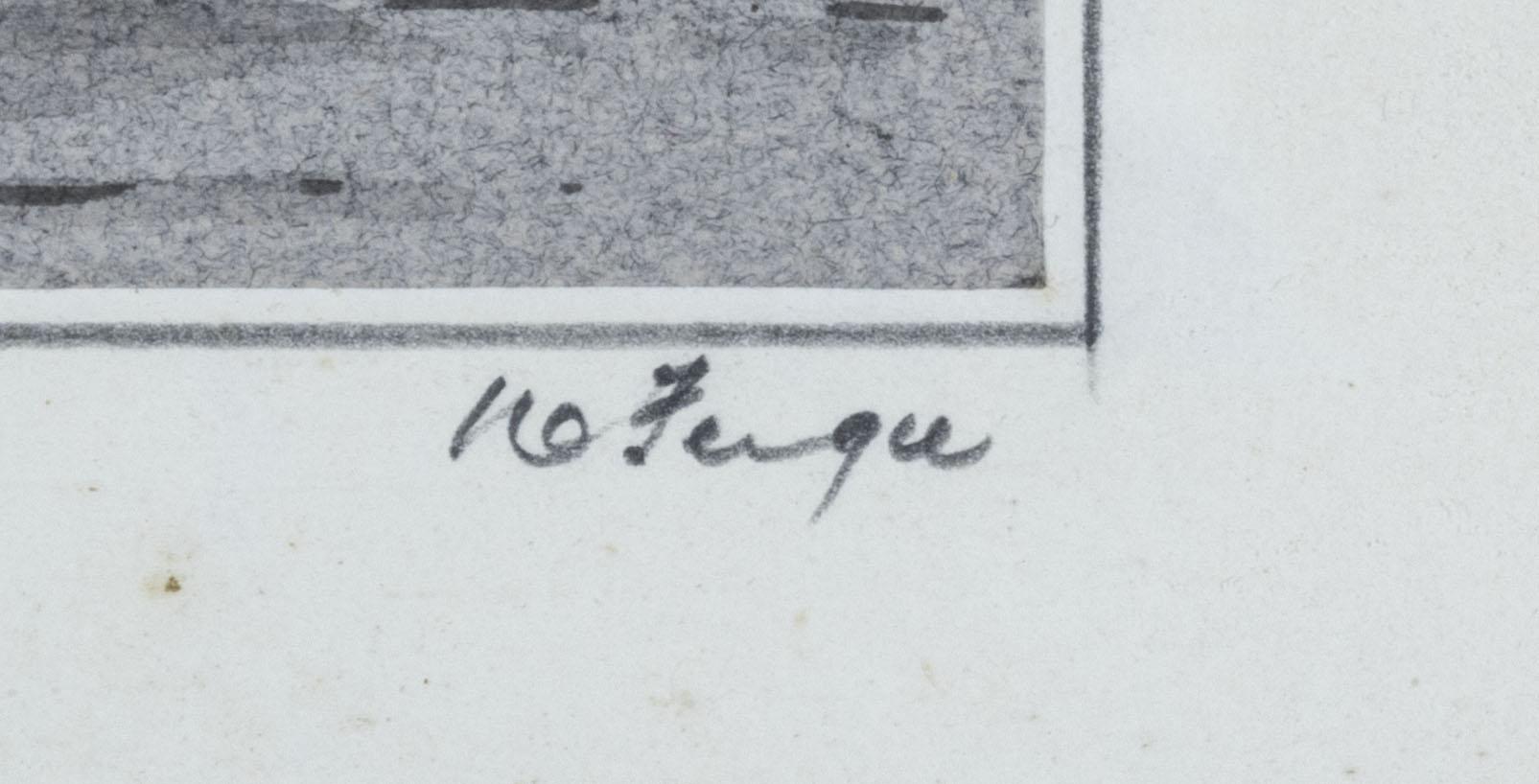 A framed print 'Berwick on Tweed' signed W Fergie, 13cm x 18cm - Image 4 of 6