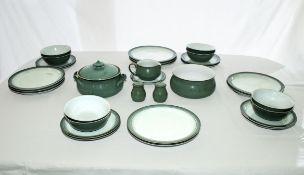 A Denby pottery part dinner service