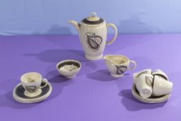 A part Susie Cooper coffee service