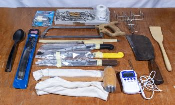 A selection of various butchery items