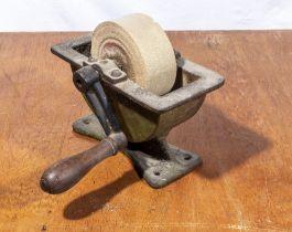 Small sandstone sharpener