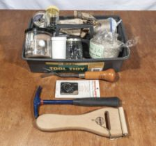 Upholstery tools and fixing etc