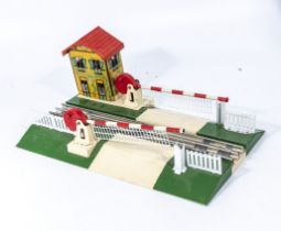 French JEP No. 6363 large level crossing