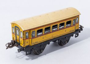 French Hornby carriage B fi 5842