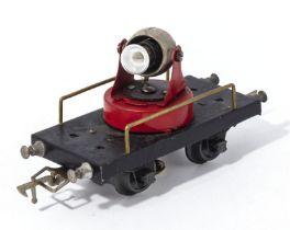 French JEP No. 4649 swivel spotlight bulb