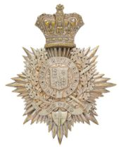 1st (City of London Volunteer Rifle Brigade) Victorian Officer shako plate circa 1859-1901. Fine