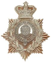 2nd (Bodmin) Bn. Cornwall Rifles Volunteers Victorian helmet plate circa 1879-82. Good scarce die-