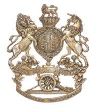 Artillery Volunteers Victorian Officer / Senior NCO helmet plate circa 1878-1901. Good scarce die-