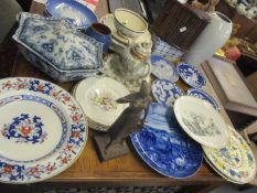 Mixed 20th century ceramics to include Royal Copenhagen 1970's Mother's Day plates and other