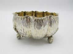 A Victorian silver Aesthetic Movement bowl by Hukin & Heath, design attributed to Sir Christopher