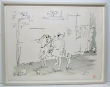 John Lennon (1940?1980) British 'I've been getting into jazz man', rare limited edition serigraph,