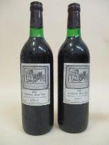 Two bottles of Chateau Beau-Site 1978, Bordeaux Location: 2