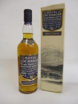 One bottle of Royal Lochnagar single highland malt Whisky, 70cl