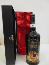 A single bottle of Bowmore Seadragon single malt Scotch Whisky, aged 30 years Location: CAB1